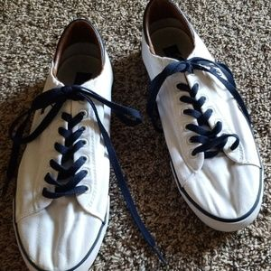 Polo Ralph Lauren White Laced Shoes Mens 11.5